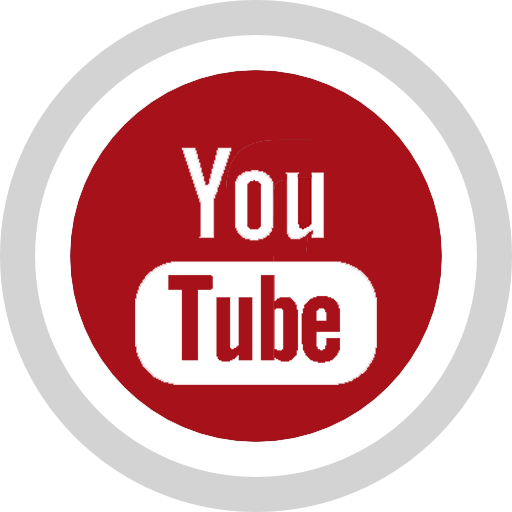 social media logo utube icon icons.com 59063